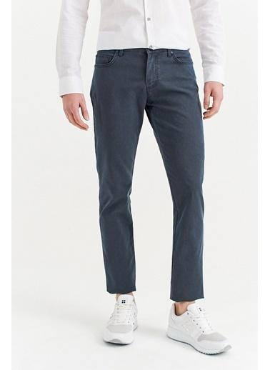 Avva Erkek  5 Cepli Armürlü Slim Fit Pantolon A01S3087 İndigo